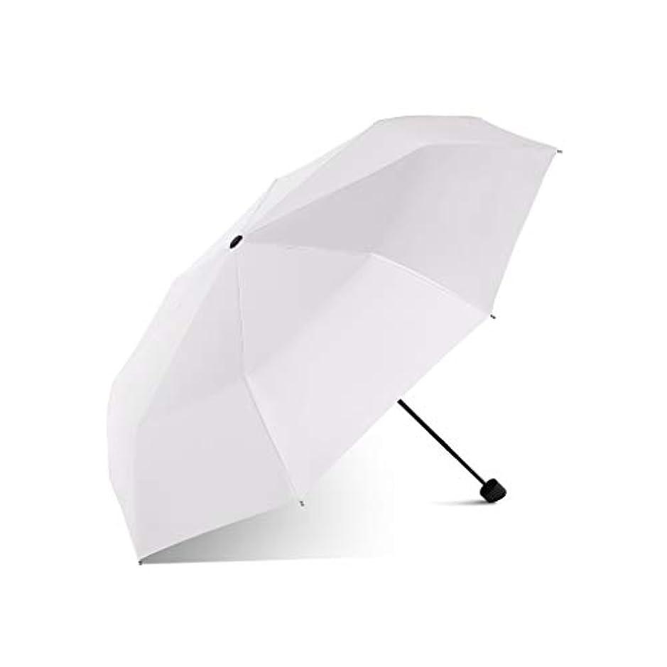 ピアリテラシー勇者日傘男性と女性傘傘傘超軽量UV家庭用傘折りたたみ屋外特別小さな便利な日焼け止め防水日傘 (色 : Light pink)