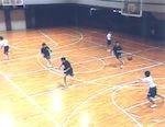 児玉中学校にみる「ボールの運び」のシステム[バスケットボール 387-S 全4巻]