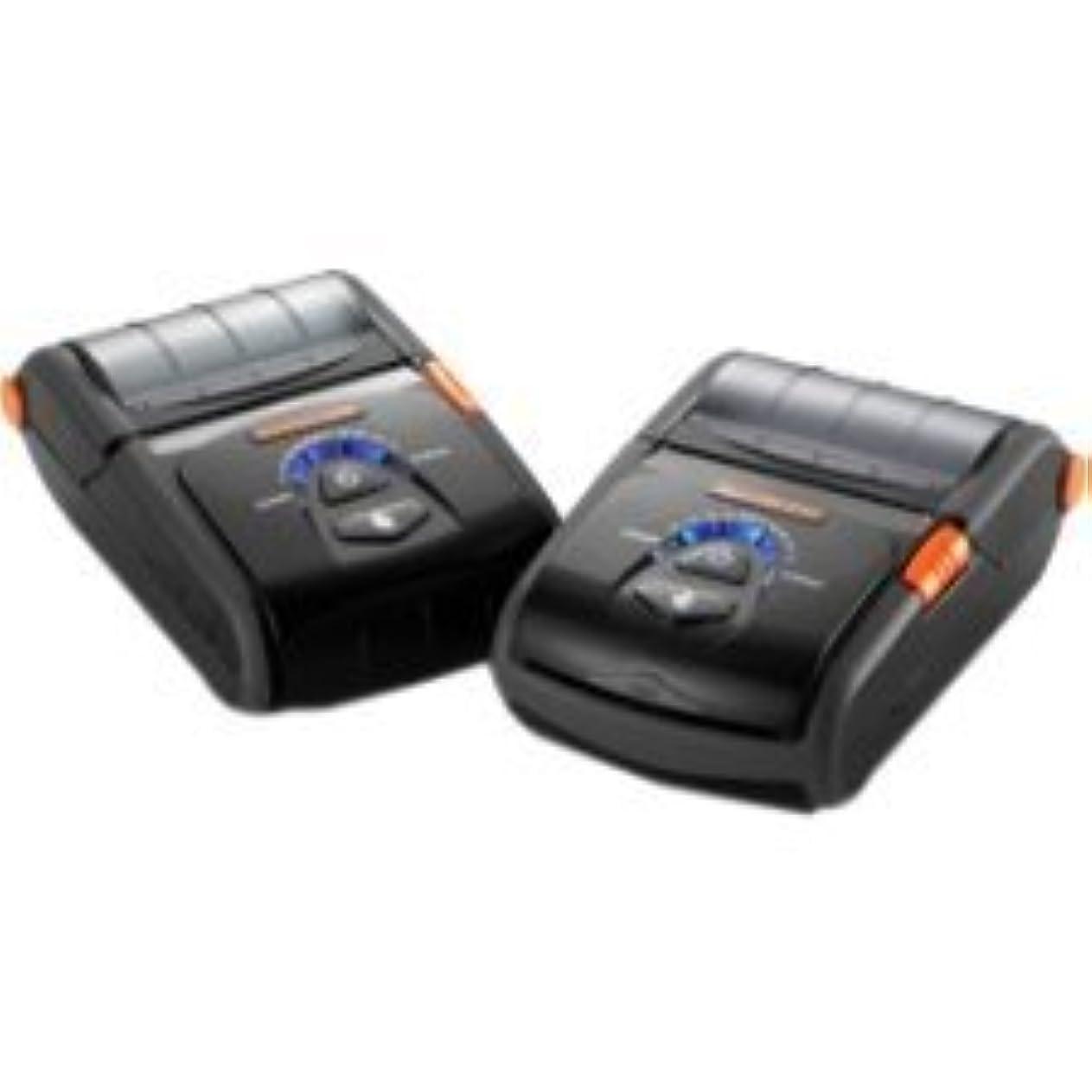 グローブ可聴軍Bixolon SPP-R200II Direct Thermal Receipt Printer Serial USB MFI BT MSR, Monochrome [並行輸入品]