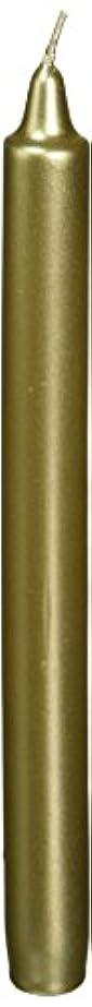 始めるキャッシュ傭兵Zest Candle CEZ-105 10 in. Metallic Gold Straight Taper Candles -1 Dozen