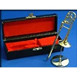 トロンボーン ゴールド ミニチュア楽器