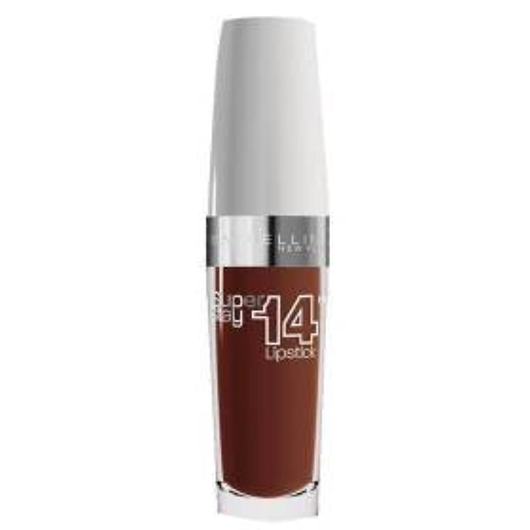 ウガンダ受粉する挑むGemey Maybelline superstay 14h rouge a levres n°720 lasting chestnut- (for multi-item order extra postage cost...