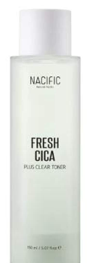 かび臭いドラマエレクトロニック[NACIFIC] Fresh Cica Plus Clear Toner/フレッシュシカプラスクリアトナー [並行輸入品]