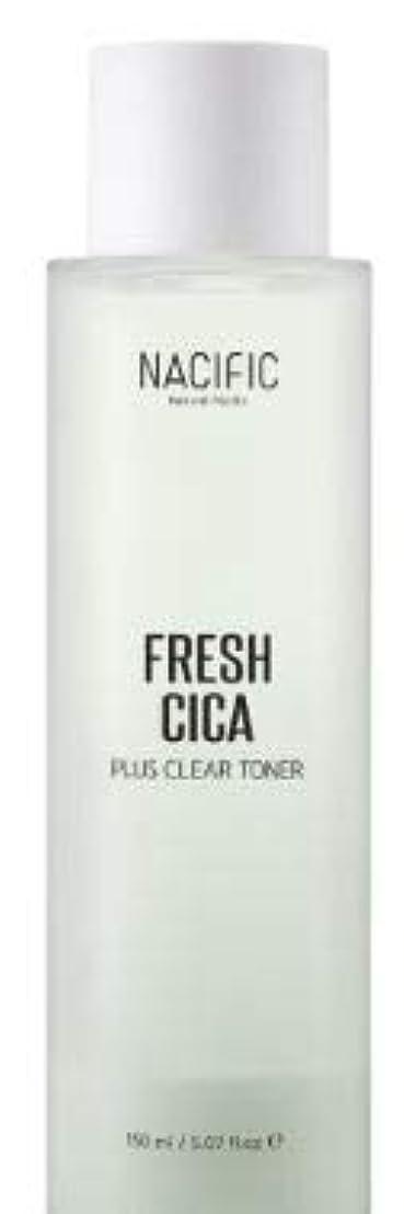 ウイルス不快なディスコ[NACIFIC] Fresh Cica Plus Clear Toner/フレッシュシカプラスクリアトナー [並行輸入品]