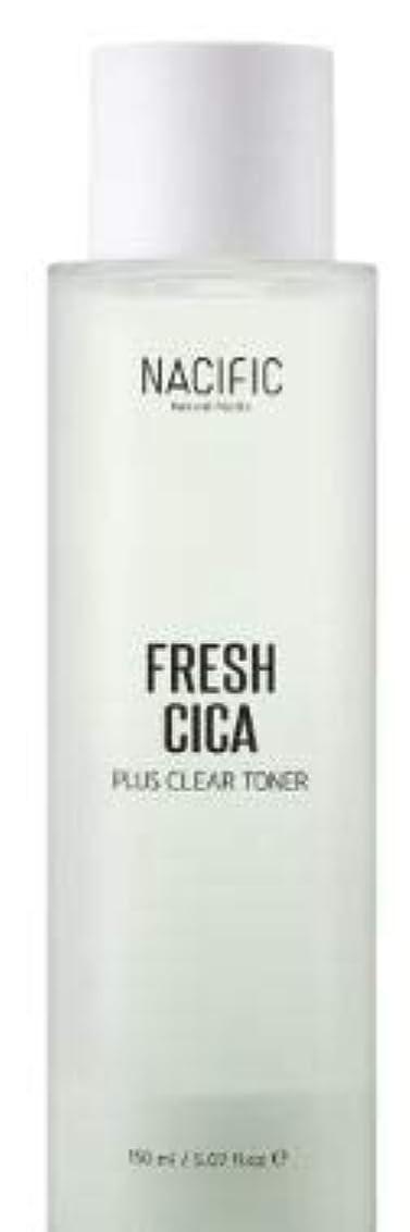 頭腕十分に[NACIFIC] Fresh Cica Plus Clear Toner/フレッシュシカプラスクリアトナー [並行輸入品]
