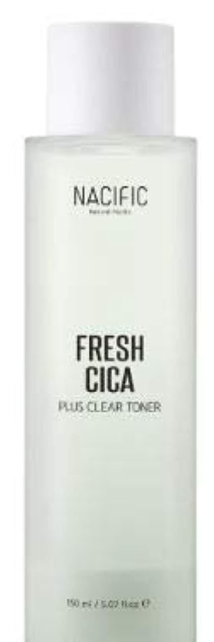 あごひげ援助平野[NACIFIC] Fresh Cica Plus Clear Toner/フレッシュシカプラスクリアトナー [並行輸入品]