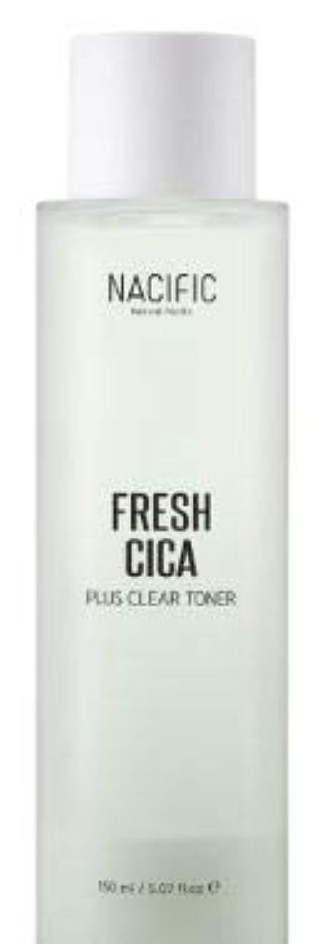感じるダム重力[NACIFIC] Fresh Cica Plus Clear Toner/フレッシュシカプラスクリアトナー [並行輸入品]