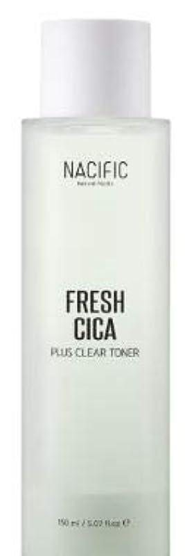 許さないそれに応じて代わりに[NACIFIC] Fresh Cica Plus Clear Toner/フレッシュシカプラスクリアトナー [並行輸入品]