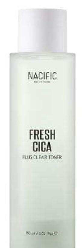 アクセシブル証言一致する[NACIFIC] Fresh Cica Plus Clear Toner/フレッシュシカプラスクリアトナー [並行輸入品]