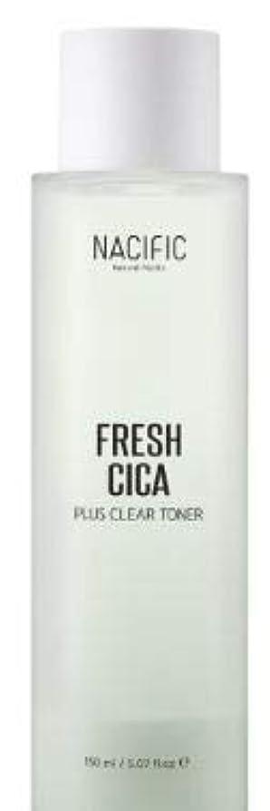 火曜日ペインギリック適度に[NACIFIC] Fresh Cica Plus Clear Toner/フレッシュシカプラスクリアトナー [並行輸入品]