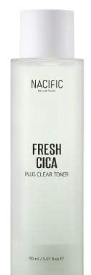 建てる若いエキス[NACIFIC] Fresh Cica Plus Clear Toner/フレッシュシカプラスクリアトナー [並行輸入品]