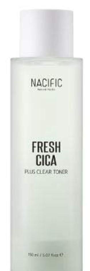 掃除章プログラム[NACIFIC] Fresh Cica Plus Clear Toner/フレッシュシカプラスクリアトナー [並行輸入品]