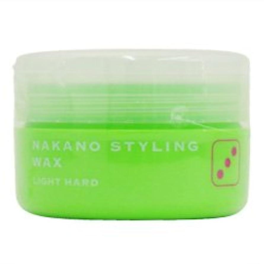 テープ配列深くナカノ スタイリングワックス 3 ライトハード 90g 中野製薬 NAKANO