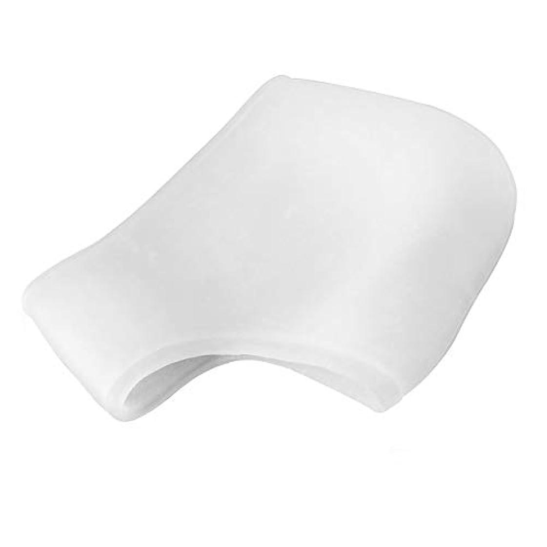 誤解させる冷凍庫病気のシリコーンモイスチャライジングジェルヒールひびの入ったフットスキンケアフットケアツールを守ります