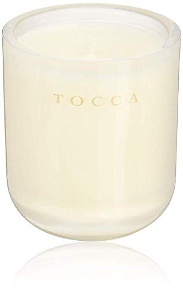 付録挑発する産地TOCCA(トッカ) ボヤージュ キャンドル ボラボラ 287g (ろうそく 芳香 バニラとジャスミンの甘く柔らかな香り)