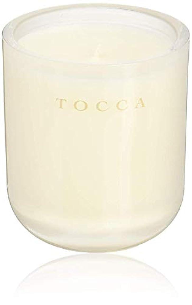 グループテスピアン書き込みTOCCA(トッカ) ボヤージュ キャンドル ボラボラ 287g (ろうそく 芳香 バニラとジャスミンの甘く柔らかな香り)
