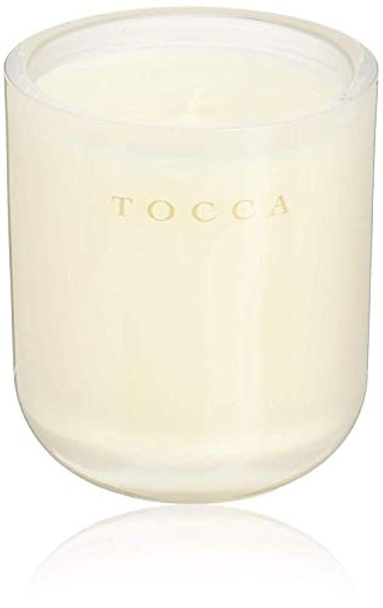 散らす欺くうなり声TOCCA(トッカ) ボヤージュ キャンドル ボラボラ 287g (ろうそく 芳香 バニラとジャスミンの甘く柔らかな香り)