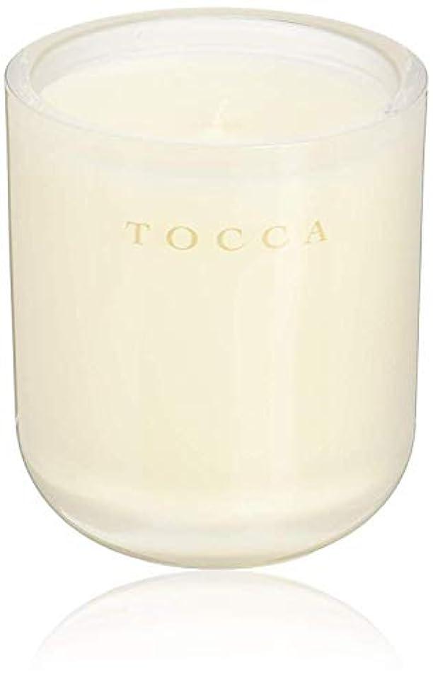 噴出するしなやかな仲間TOCCA(トッカ) ボヤージュ キャンドル ボラボラ 287g (ろうそく 芳香 バニラとジャスミンの甘く柔らかな香り)