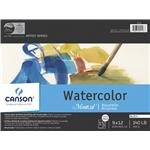 Canson Montval Watercolor Paper 4 in. x 6 in. block of 15 by Canson
