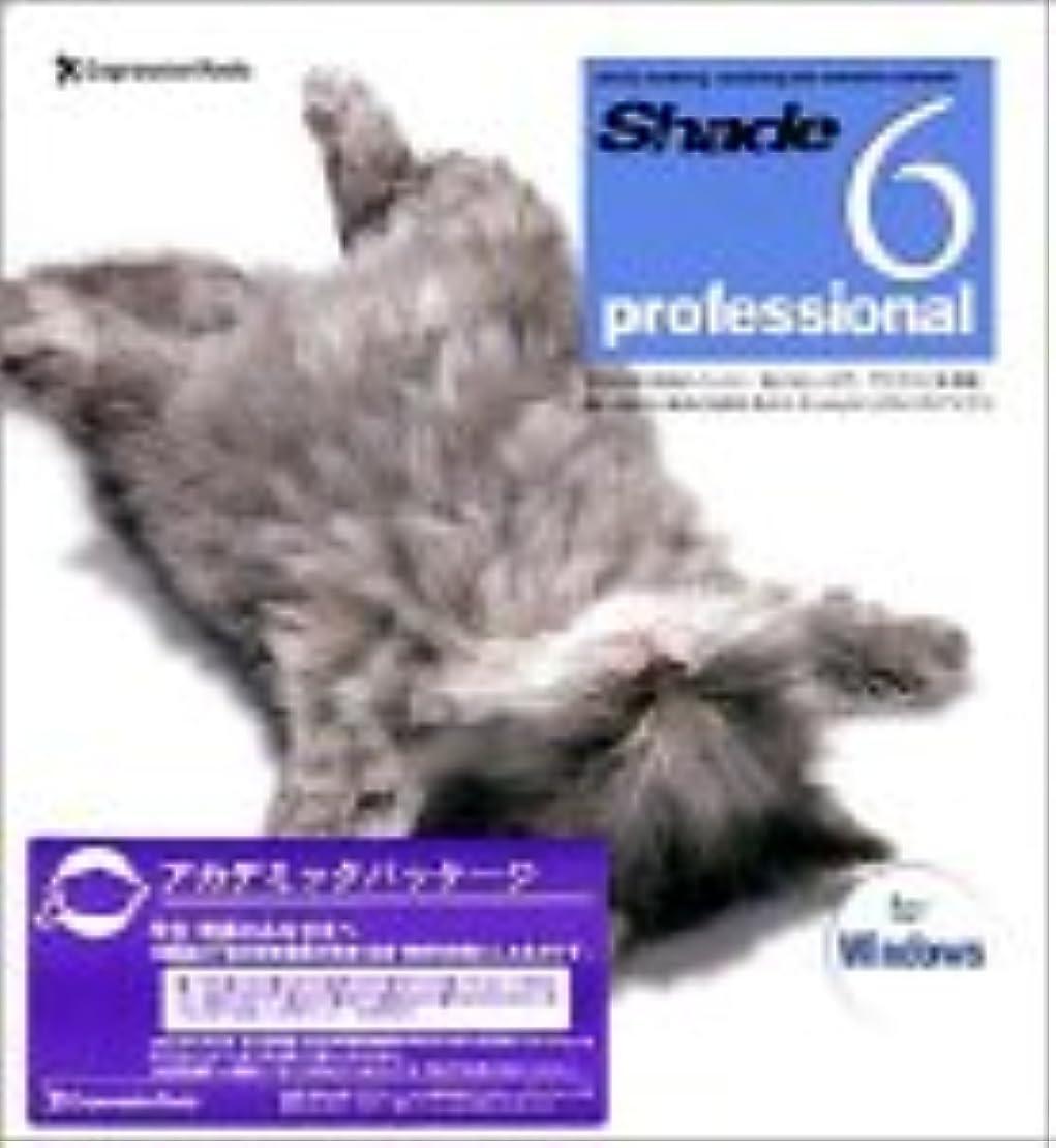 契約したヘルパー木材Shade 6 professional for Windows Academic Package