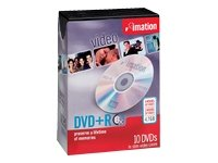 Imation Corp 10pk DVD + R 4.7 GB 8 x -select W /ムービーボックスJC ( 17360 )