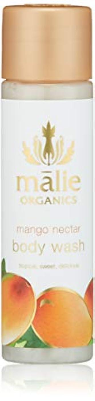 漏れ破壊する優先Malie Organics(マリエオーガニクス) ボディウォッシュ トラベル マンゴーネクター 74ml