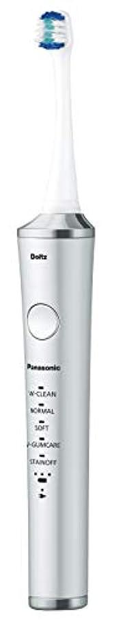 高齢者刈るかろうじてパナソニック 電動歯ブラシ ドルツ シルバー EW-DP53-S