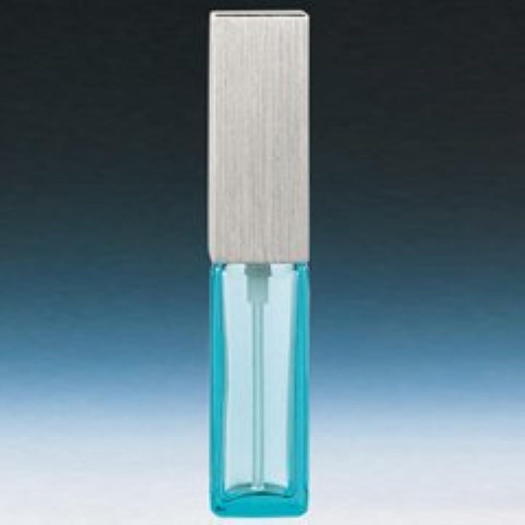 期間トークンによると【ヤマダアトマイザー】メンズアトマイザー 15493 角ビン ブルー キャップ ヘアラインシルバー 4ml