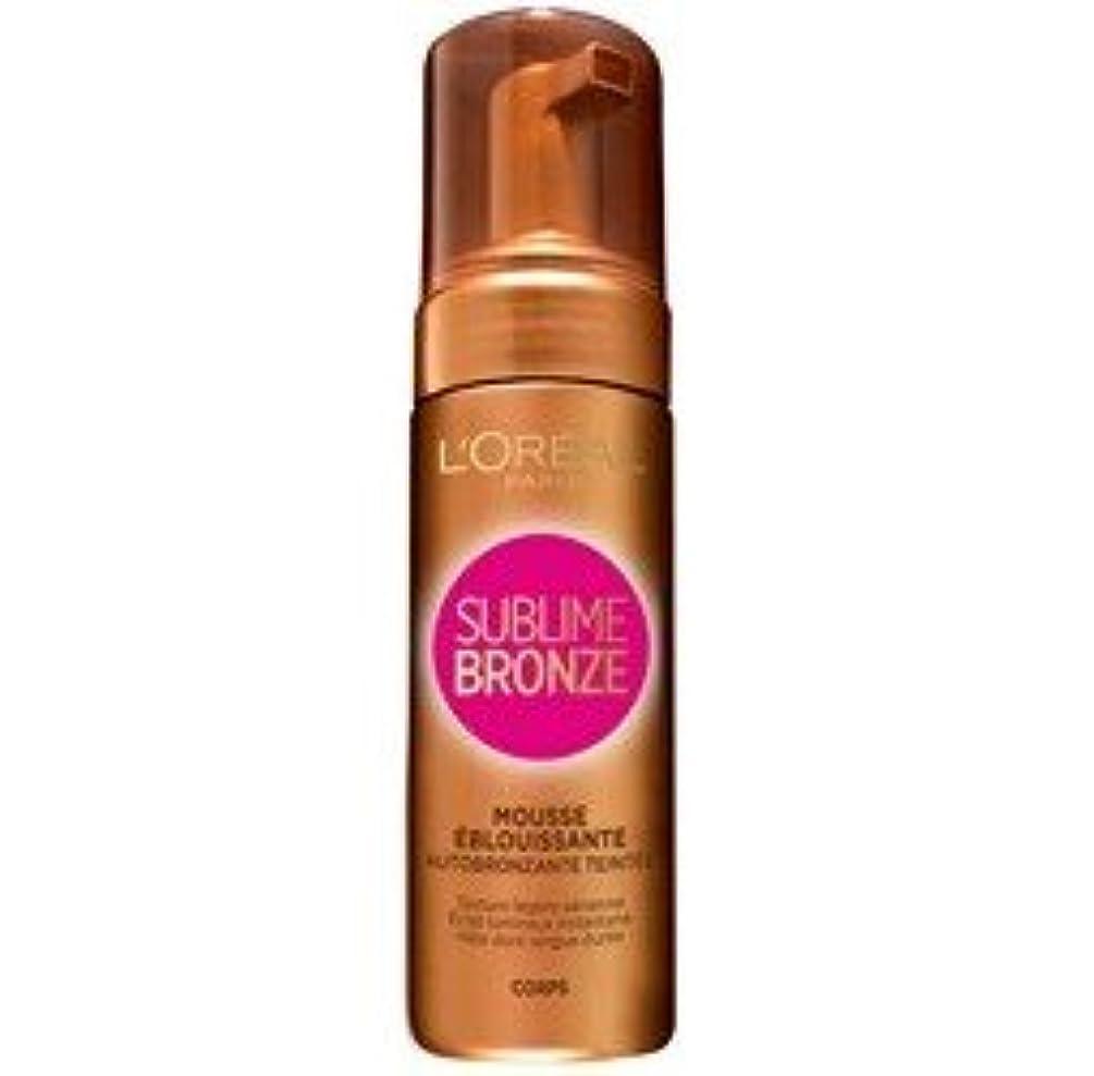 祈りモーターサーバL'Oréal Paris Sublime Bronze-Self Tan Bronzing Mousse Getönte Sublime Bronze der 150 ml Flasche