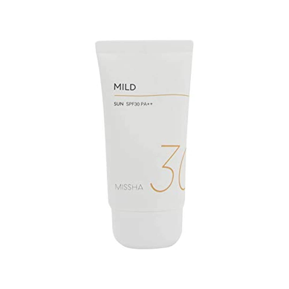 手当ブルゴーニュ負荷Missha All Around Safe Block Mild Sun SPF30/PA++ 50ml