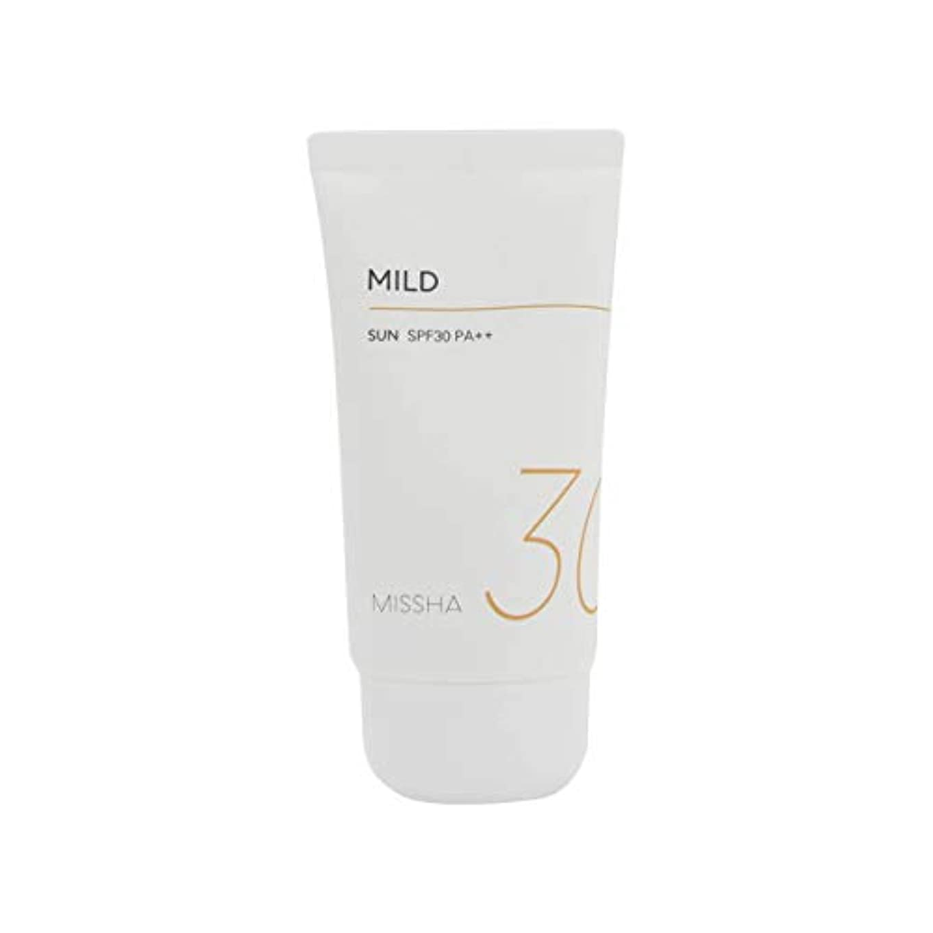 爆発軸シリーズMissha All Around Safe Block Mild Sun SPF30/PA++ 50ml