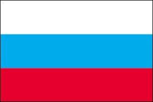 世界の国旗 ロシア国旗 90×150cm