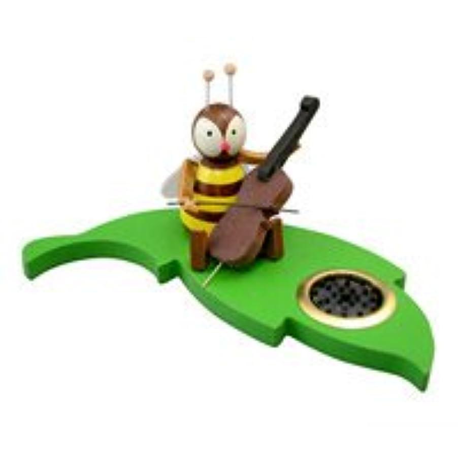 嵐ネズミインターネットクーネルト インセンススタンド(香皿) ミツバチ チェロ