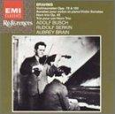 Brahms: Violin Sonatas Nos. 1 & 2 / Horn Trio, Opp. 40, 78, 100