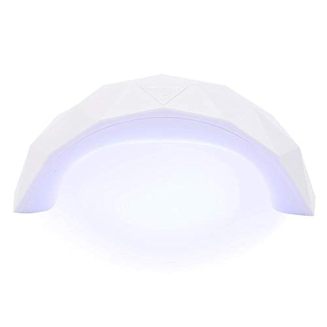 フライカイト弁護小麦粉硬化用ライト 9W  LED UV ネイルドライヤー 赤外線美白機能付き スマートライトミニ