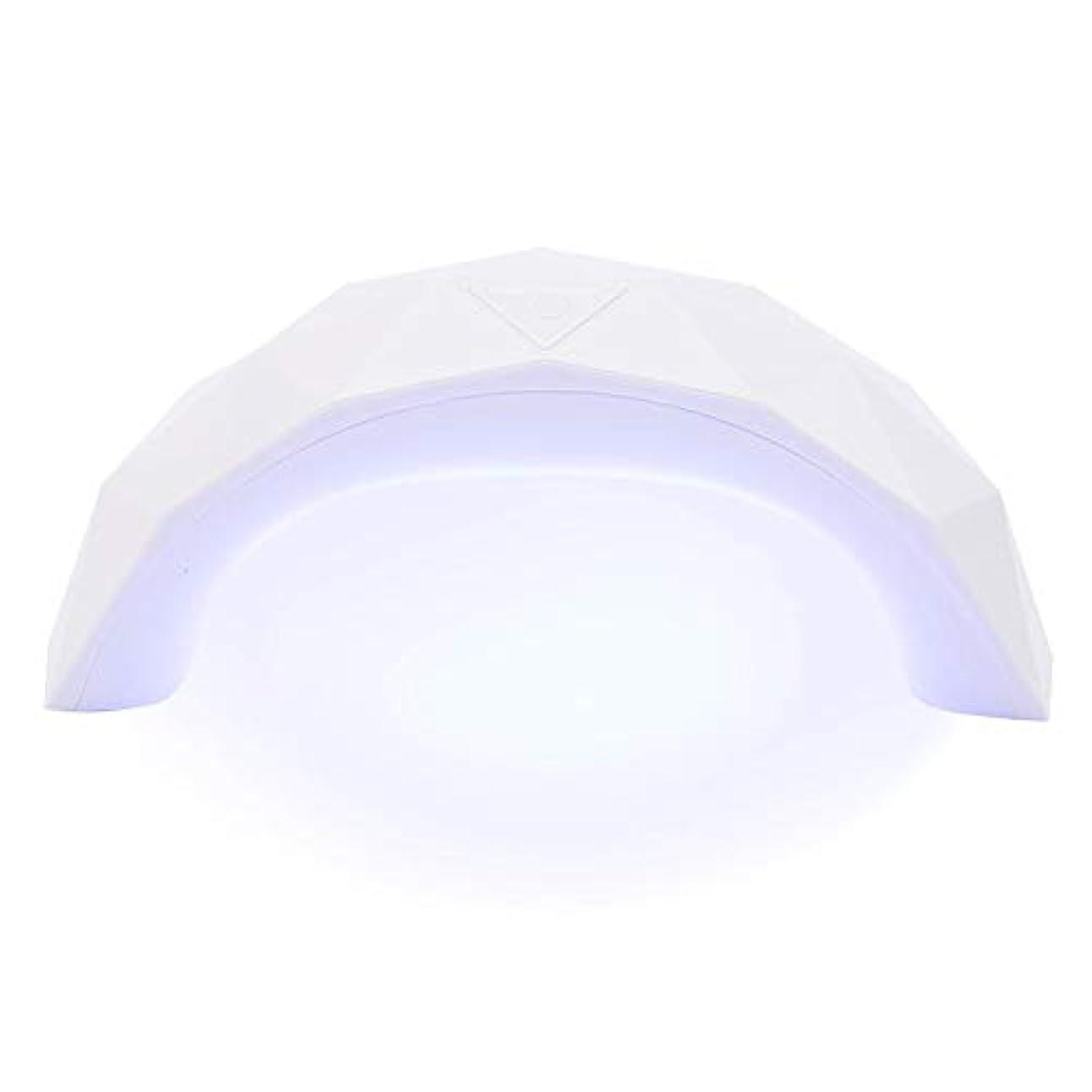 トイレ確かに確保する硬化用ライト 9W  LED UV ネイルドライヤー 赤外線美白機能付き スマートライトミニ