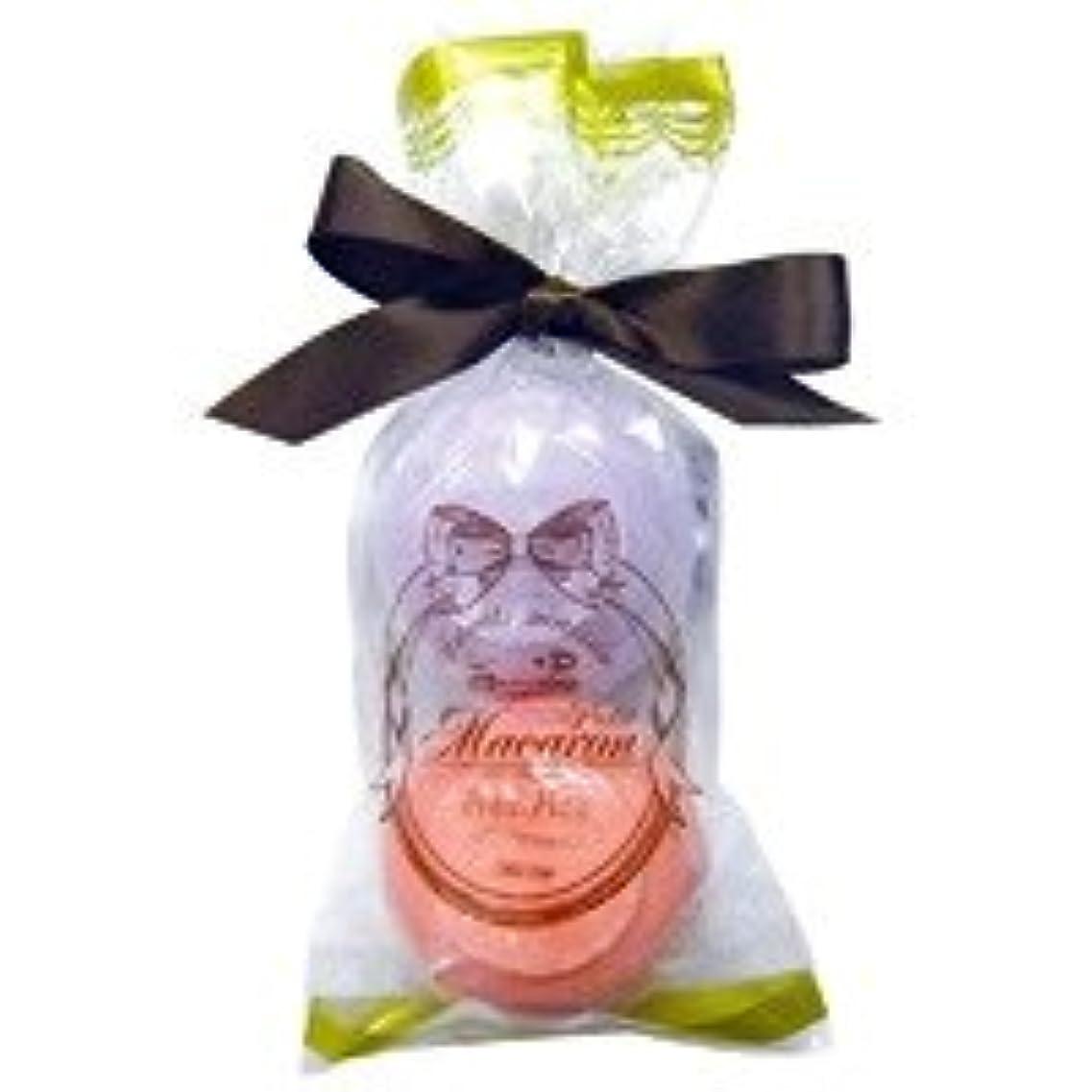 リスわな引くスウィーツメゾン プチマカロンミニセット「パープル&ダークピンク」6個セット フルーティーなザクロの香り&華やかなローズの香り