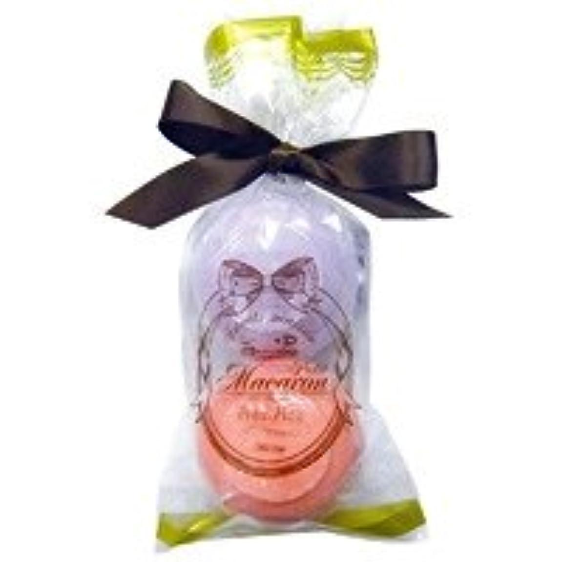 七時半来てラインスウィーツメゾン プチマカロンミニセット「パープル&ダークピンク」6個セット フルーティーなザクロの香り&華やかなローズの香り