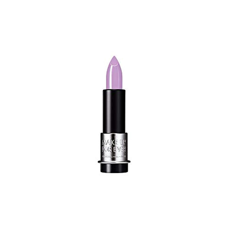 電子レンジワイプナンセンス[MAKE UP FOR EVER] これまでアーティストルージュクリーム口紅3.5グラムのC503を補う - 藤紫 - MAKE UP FOR EVER Artist Rouge Creme Lipstick 3.5g...