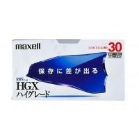 maxell T-30HGX(B)S(×10p) VHSハイグレード 30分(10本入)