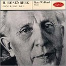 Piano Works 1 by Hilding Rosenberg (2013-05-03)