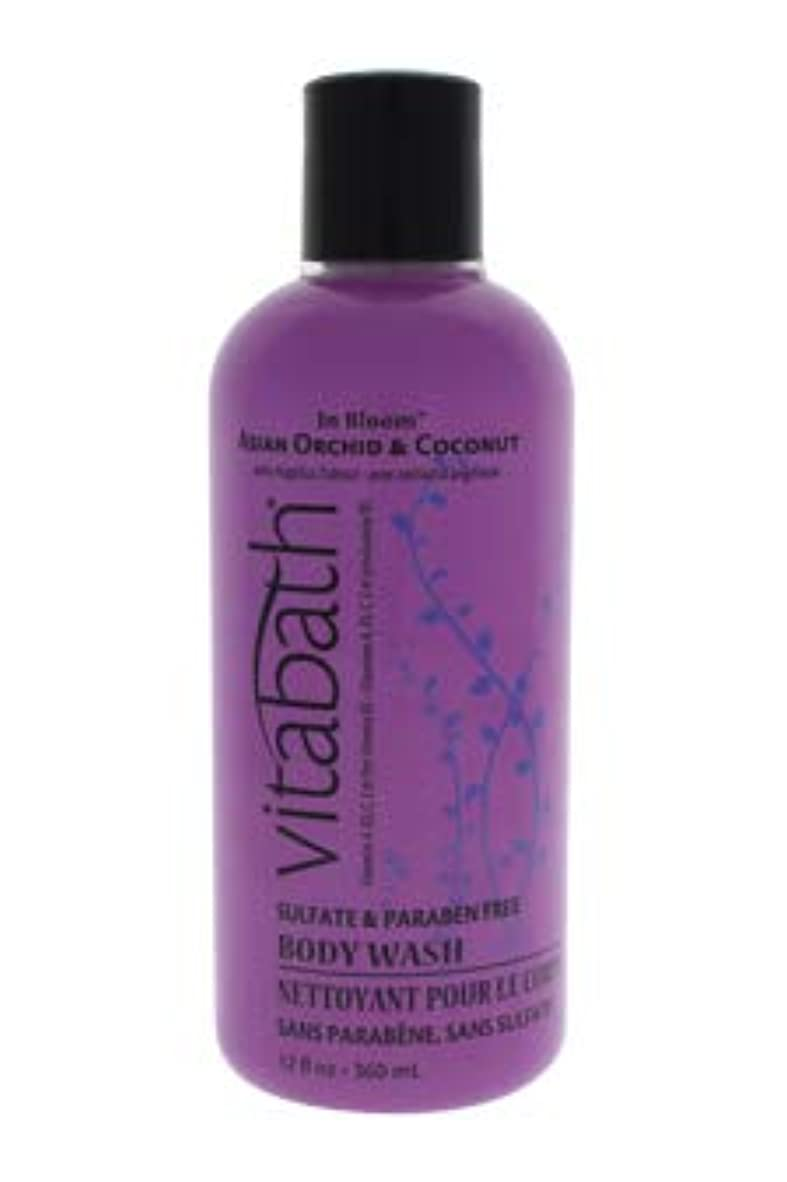 承認後継メカニックVitabath Bath and Shower Gel, Asian Orchid and Coconut, 12 Ounce