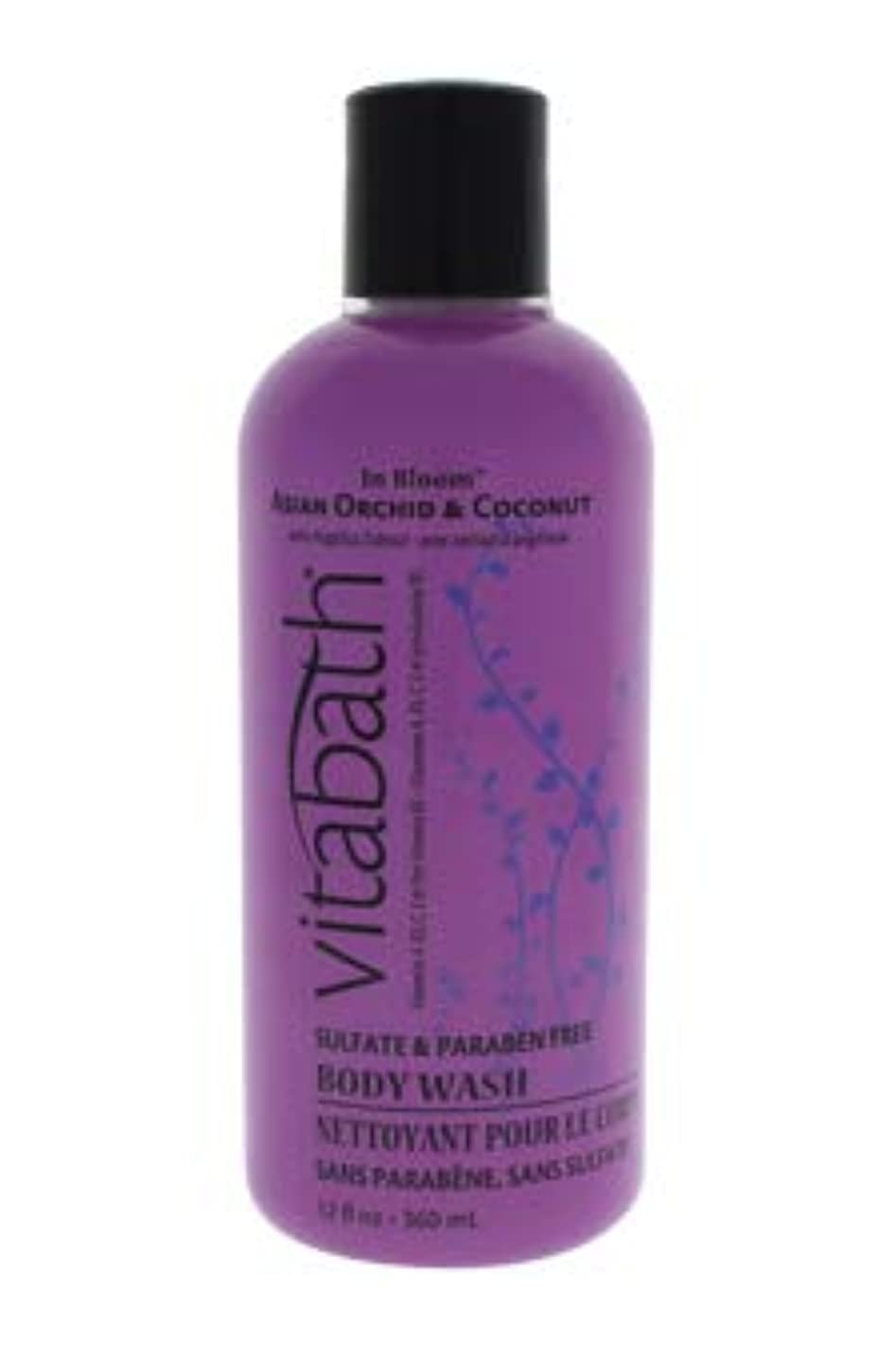現在今日対象Vitabath Bath and Shower Gel, Asian Orchid and Coconut, 12 Ounce