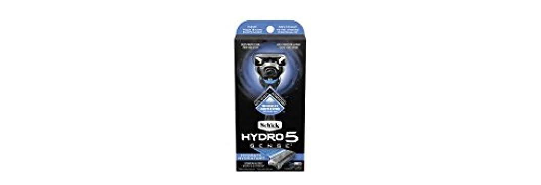 くちばし促す改革Schick Hydro5 Sense Hydrate 1 handle + 2 razor blade refills シックハイドロ5センスハイドレート1個+剃刀刃2個 [並行輸入品]