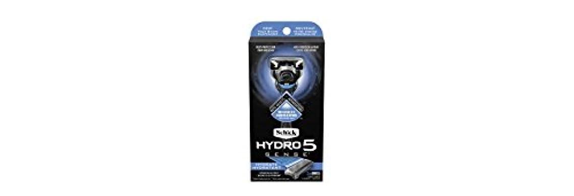化石針バーSchick Hydro5 Sense Hydrate 1 handle + 2 razor blade refills シックハイドロ5センスハイドレート1個+剃刀刃2個 [並行輸入品]