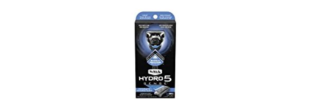 金貸し出口満足させるSchick Hydro5 Sense Hydrate 1 handle + 2 razor blade refills シックハイドロ5センスハイドレート1個+剃刀刃2個 [並行輸入品]
