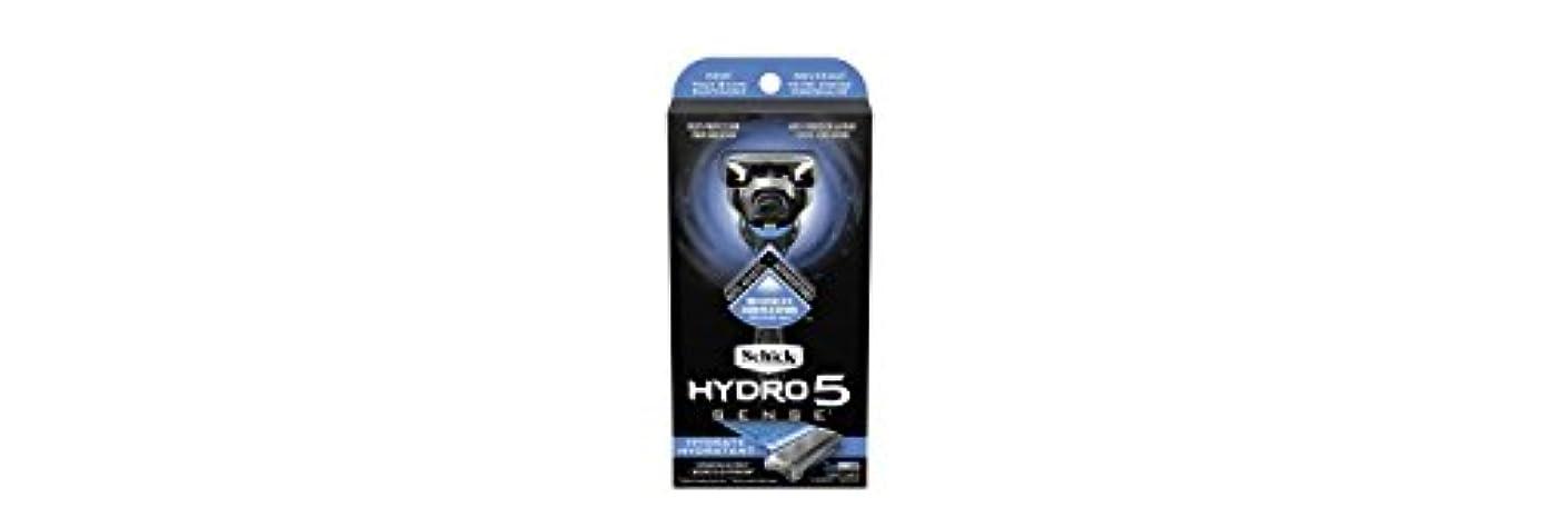 現金百すきSchick Hydro5 Sense Hydrate 1 handle + 2 razor blade refills シックハイドロ5センスハイドレート1個+剃刀刃2個 [並行輸入品]