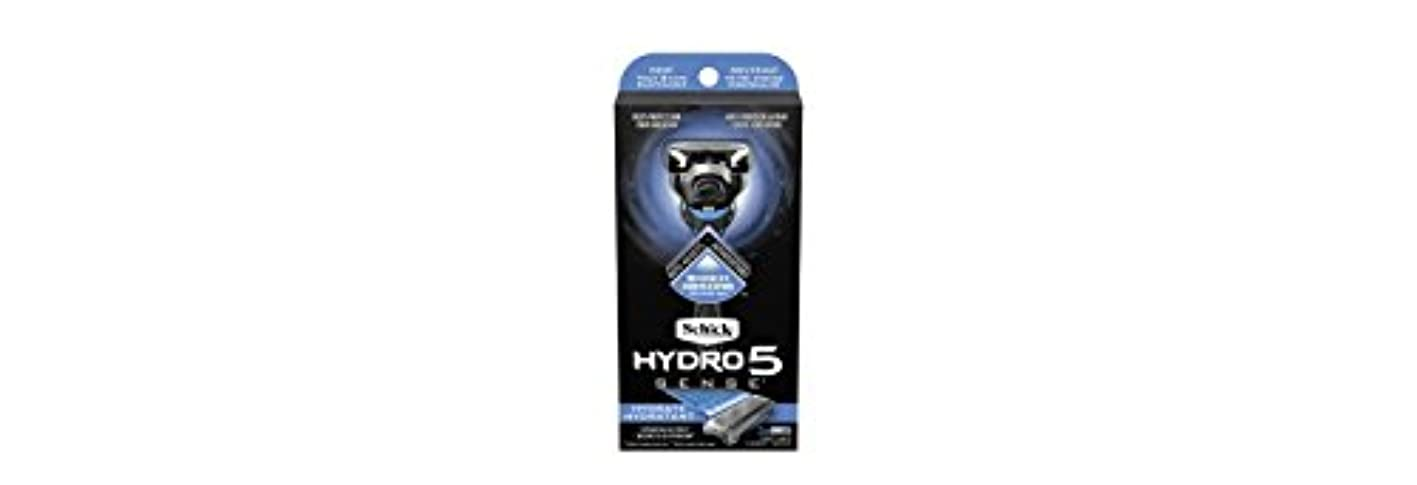 先例寄り添う騒乱Schick Hydro5 Sense Hydrate 1 handle + 2 razor blade refills シックハイドロ5センスハイドレート1個+剃刀刃2個 [並行輸入品]