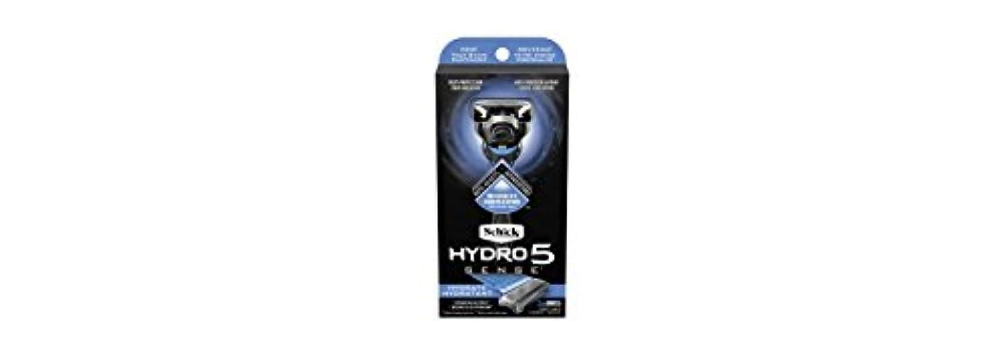 ビールディスクプロジェクターSchick Hydro5 Sense Hydrate 1 handle + 2 razor blade refills シックハイドロ5センスハイドレート1個+剃刀刃2個 [並行輸入品]