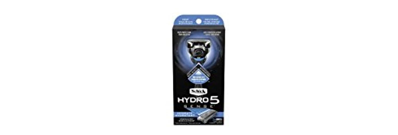 図書館起点多数のSchick Hydro5 Sense Hydrate 1 handle + 2 razor blade refills シックハイドロ5センスハイドレート1個+剃刀刃2個 [並行輸入品]